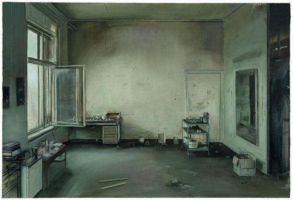 Johannes Rochhausen Atelieransicht 2008